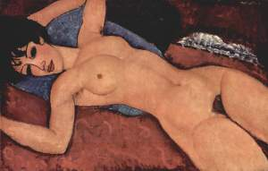 "Modigliani\'s ""Red Nude\"""