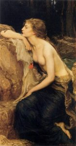 "Herbert James Draper, \""Lamia\"", 1909"