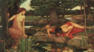 """Echo and Narcissus"" by Waterhouse"