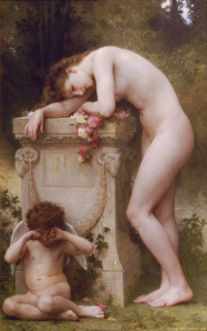 """Elegy"" by William Adolphe Bouguereau"