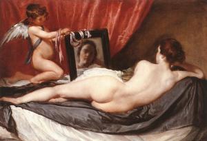 """Rokeby Venus"" by Diego Velasquez c. 1650"
